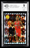 Allen Iverson 1996-97 Topps Draft Redemption #1 (BCCG 9) at PristineAuction.com