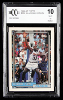 Shaquille O'Neal 1992-93 Topps Gold #362 (BCCG 10) at PristineAuction.com