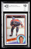 Wayne Gretzky 1984-85 Topps #51 (BCCG 10) at PristineAuction.com