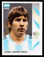 Lionel Messi 2006 Panini World Cup Stickers #185 at PristineAuction.com