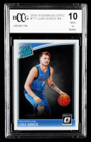 Luka Doncic 2018-19 Donruss #177 RR RC (BCCG 10) at PristineAuction.com
