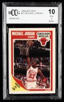 Michael Jordan 1989-90 Fleer #21 (BCCG 10) at PristineAuction.com