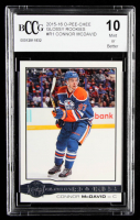 Connor McDavid 2015-16 O-Pee-Chee Glossy Rookies #R1 (BCCG 10) at PristineAuction.com
