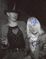 Edgar Winter & Johnny Winter Signed 8x10 Photo (AutographCOA COA) at PristineAuction.com