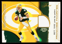 Brett Favre 2002 Flair Franchise Favorites Jerseys #4 at PristineAuction.com