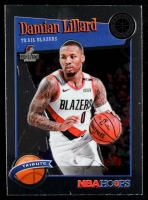 Damian Lillard 2019-20 Hoops Premium Stock #291 at PristineAuction.com