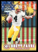 Brett Favre 1999 Crown Royale Franchise Glory #8 at PristineAuction.com