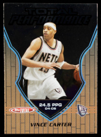 Vince Carter 2005-06 Topps Total Performance #TP7 at PristineAuction.com