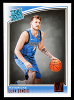 Luka Doncic 2018-19 Donruss #177 RR RC at PristineAuction.com