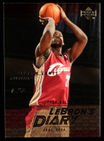 LeBron James 2003-04 Upper Deck LeBron's Diary #LJ12 at PristineAuction.com
