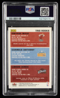 LeBron James RC / Carmelo Anthony RC / Dwyane Wade RC 2003-04 Fleer Tradition #300 at PristineAuction.com