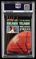 Michael Jordan 1992-93 Stadium Club Beam Team #1 (PSA 8) at PristineAuction.com