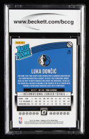 Luka Doncic 2018-19 Donruss Optic #177 RR RC (BCCG 9) at PristineAuction.com