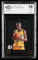 Kevin Durant 2007-08 Topps #112 RC (BCCG 10) at PristineAuction.com