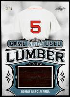 Nomar Garciaparra 2020 Leaf Lumber Kings Game Used Lumber Platinum #GUL47 #3/6 at PristineAuction.com