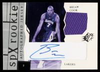 Brian Cook 2003-04 SPx #171 Jersey Autograph RC at PristineAuction.com