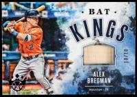 Alex Bregman 2019 Diamond Kings Bat Kings Purple #10 #10/10 at PristineAuction.com