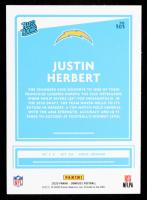 Justin Herbert 2020 Donruss #303 RR RC at PristineAuction.com