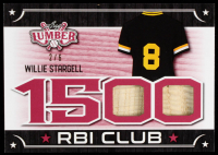 Willie Stargell 2021 Leaf Lumber 1500 RBI Club Red #RBI36 #2/6 at PristineAuction.com