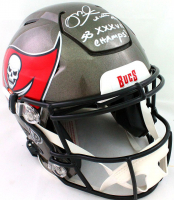 """Mike Alstott Signed Buccaneers Full-Size Authentic On-Field SpeedFlex Helmet Inscribed """"SB XXXVII Champs!"""" (Beckett Hologram) at PristineAuction.com"""