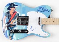 "Tim McGraw Signed 39"" Electric Guitar (AutographCOA COA) at PristineAuction.com"