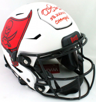 "Mike Alstott Signed Buccaneers Full-Size Authentic On-Field Lunar Eclipse Alternate SpeedFlex Helmet Inscribed ""SB XXXVII Champs!"" (Beckett Hologram) at PristineAuction.com"