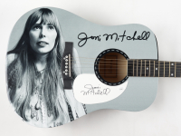 "Joni Mitchell Signed 40.5"" Acoustic Guitar (JSA COA) at PristineAuction.com"