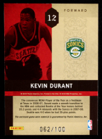 Kevin Durant 2009-10 Timeless Treasures Rookie Year Materials ROY #12 at PristineAuction.com