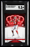 Patrick Mahomes II  2017 Crown Royale #84 RC (SGC 9.5) at PristineAuction.com