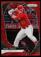 Mike Trout 2020 Panini Prizm Prizms Red Mojo #196 #039/149 at PristineAuction.com