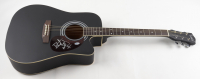"Bret Michaels Signed 38"" Acoustic Guitar (Beckett COA) (See Description) at PristineAuction.com"