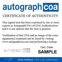 "Glenn Randall Jr. Signed ""Return of the Jedi"" 8x10 Photo (AutographCOA COA) at PristineAuction.com"