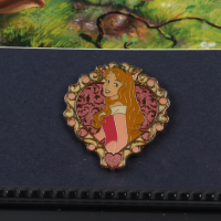"Thomas Kinkade ""Sleeping Beauty"" 16x16 Custom Framed Print Display With Princess Aurora Pin at PristineAuction.com"