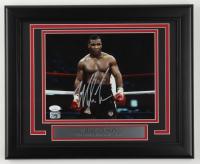 Mike Tyson Signed 13.5x16.5 Custom Framed Photo Display (JSA COA & Fiterman Hologram) at PristineAuction.com