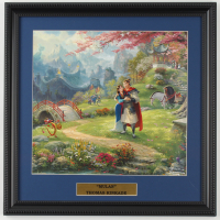"Thomas Kinkade ""Mulan"" 16x16 Custom Framed Print Display (See Description) at PristineAuction.com"