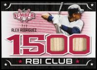 Alex Rodriguez 2021 Leaf Lumber 1500 RBI Club Red #RBI02 #7/7 at PristineAuction.com