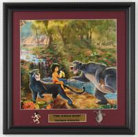 "Thomas Kinkade ""The Jungle Book"" 16x16 Custom Framed Print Display With (2) Pins at PristineAuction.com"