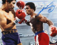 Sugar Ray Leonard Signed 8x10 Photo (Beckett COA) at PristineAuction.com