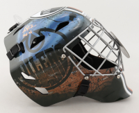 "Grant Fuhr Signed Oilers Full-Size Goalie Mask Inscribed ""HOF 03"" (Schwartz Sports COA) at PristineAuction.com"
