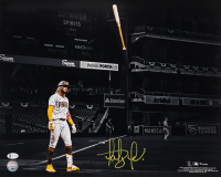 Fernando Tatis Jr. Signed Padres 16x20 Photo (Beckett COA) at PristineAuction.com