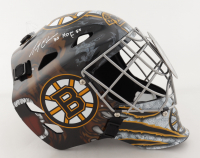 "Gerry Cheevers Signed Bruins Hockey Goalie Mask Inscribed ""HOF 85"" (Schwartz Sports COA) at PristineAuction.com"