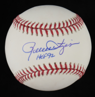 "Rollie Fingers Signed OML Baseball Inscribed ""HOF 92"" (JSA COA) at PristineAuction.com"