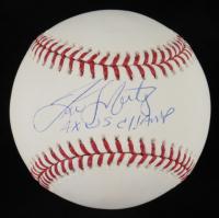 "Tino Martinez Signed OML Baseball Inscribed ""4x WS Champ"" (JSA COA) at PristineAuction.com"