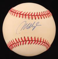 Mo Vaughn Signed OAL Baseball (Beckett COA) at PristineAuction.com