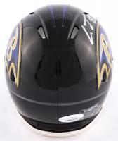 Lamar Jackson Signed Ravens Speed Mini Helmet (JSA COA) at PristineAuction.com