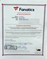 Tom Brady Signed Buccaneers Camo Alternate Speed Mini Helmet (Fanatics LOA) at PristineAuction.com