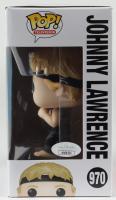 "William Zabka Signed ""Cobra Kai"" Johnny Lawrence #970 Funko Pop! Vinyl Figure Inscribed ""No Mercy!"" (JSA COA) (See Description) at PristineAuction.com"