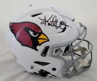 Kurt Warner Signed Cardinals Full-Size Authentic On-Field SpeedFlex Helmet (Beckett Hologram) at PristineAuction.com