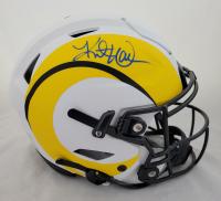 Kurt Warner Signed Rams Full Size Authentic On-Field Lunar Eclipse Alternate SpeedFlex Helmet (Beckett Hologram) at PristineAuction.com