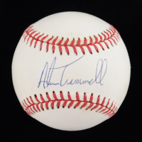 Alan Trammell Signed ONL Baseball (SOP COA) (See Description) at PristineAuction.com